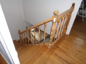 pose parquet escalier
