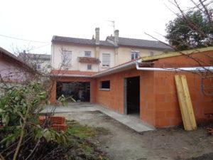 réalisation de garage maison