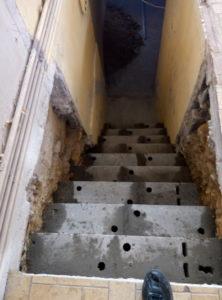 escalier echoppe