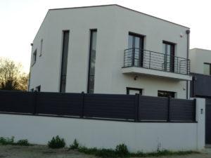 facade maison neuve
