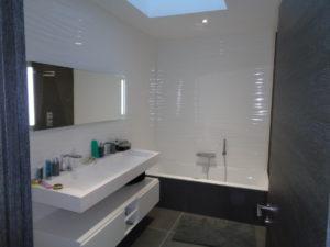 salle de bain maison neuve