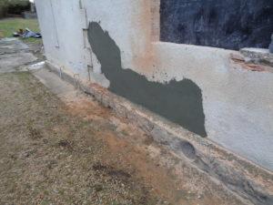 renovation mur exterieur