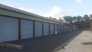facade entrepot industriel