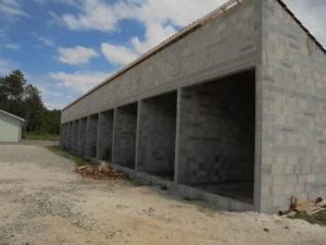 chantier entrepot industriel