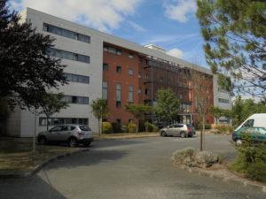 facade hotel merignac