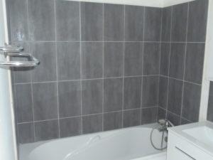 carrelage salle de bain hotel