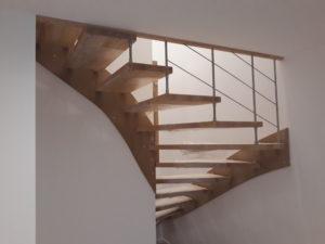 escalier bois renovation maison villenave d'ornon