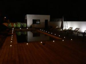 piscine eclairage