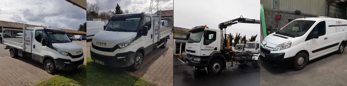 véhicules chantier rénovation et construction
