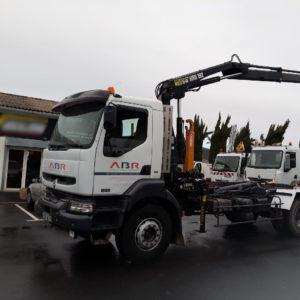 camion entreprise générale de batiment