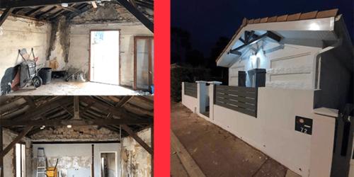 Rénovation de maison sur Bordeaux par AquiBatiRenov
